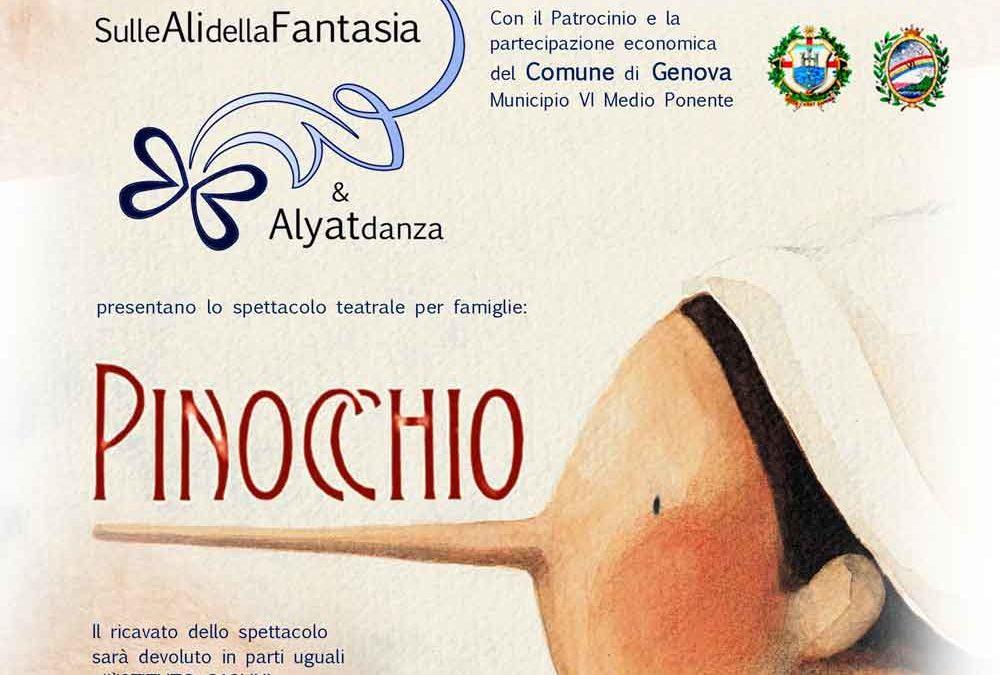 Venerdì 17 Giugno Ultimo Appuntamento Estivo con Pinocchio!!!